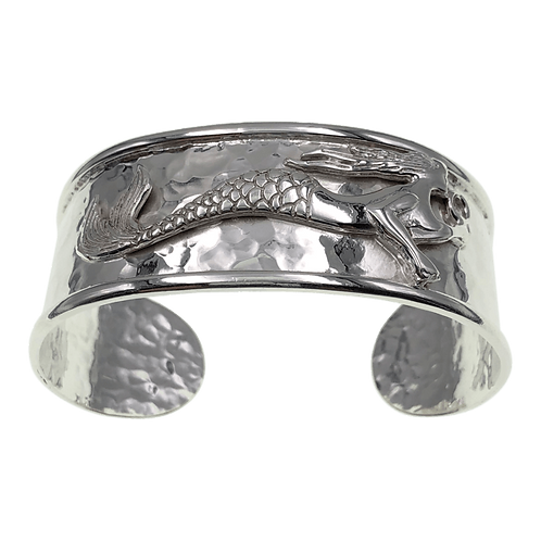 Mermaid Cuff Bracelet - Sterling Silver