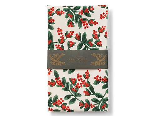 Tea Towel - Mistletoe - Rifle Paper Company