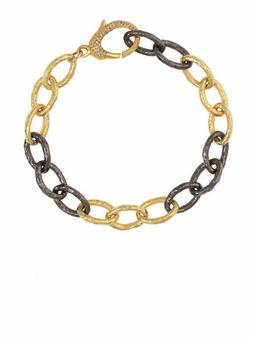18kt Gold Vermeil & Sterling Silver Bracelet - Margo Morrison