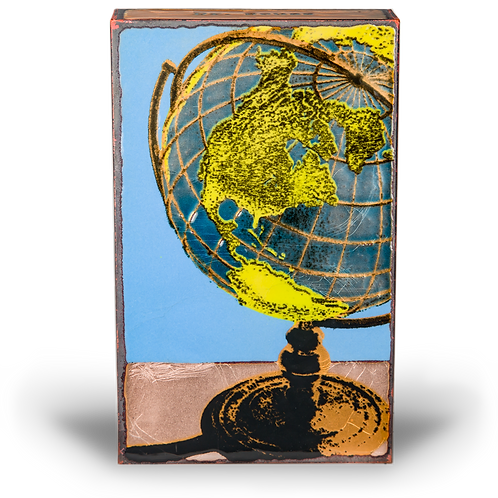 """Global"" Spirit Tile by Houston Llew"