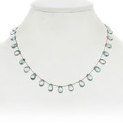 Green topaz necklace - Margo Morrison