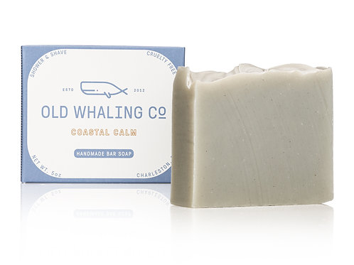 """Coastal Calm"" Bar Soap - Old Whaling Company"
