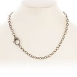 Sterling Silver & Pave Diamond Chain - Margo Morrison