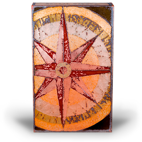 """True North"" - Spirit Tile by Houston Llew"