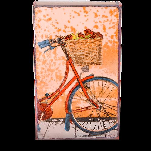 """""""Fresh Ride"""" - Spirit Tile by Houston Llew"""