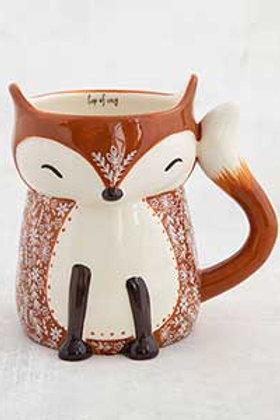 Ceramic Fox Mug