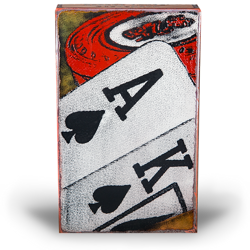 """""""All-In"""" - Spirit Tile by Houston Llew"""