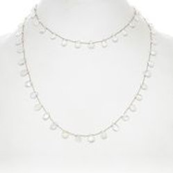 Rainbow Moonstone Necklace - Margo Morrison