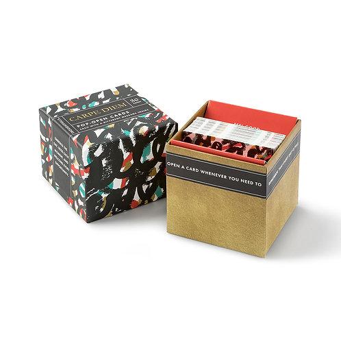 """Carpe Diem"" - Boxed Pop Open cards"