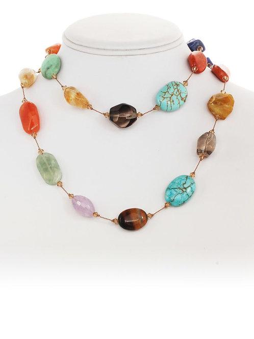 Multi-stone Necklace - Margo Morrison