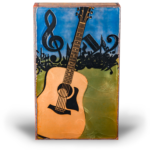 """In Tune"" - Spirit Tile by Houston Llew"