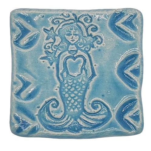 Mermaid Magnet - Ceramic