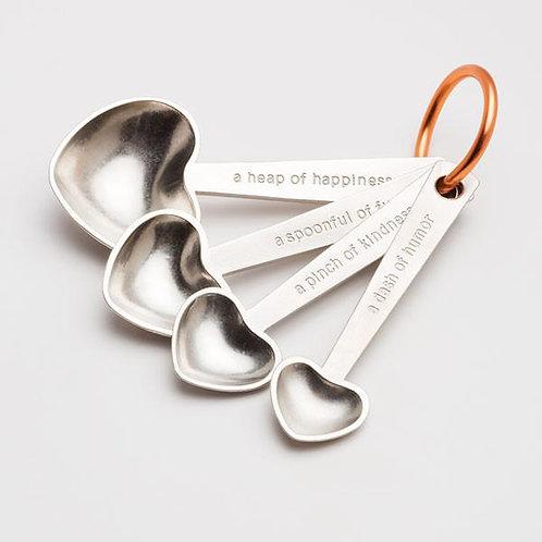 """Spoonful of Love"" Measuring Spoons"
