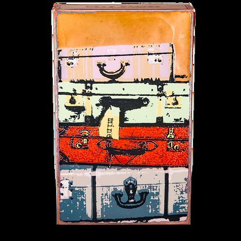 """""""Bon Voyage"""" Spirit Tile by Houston Llew"""