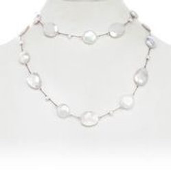 Moonstone & Pearl Necklace - Margo Morrison