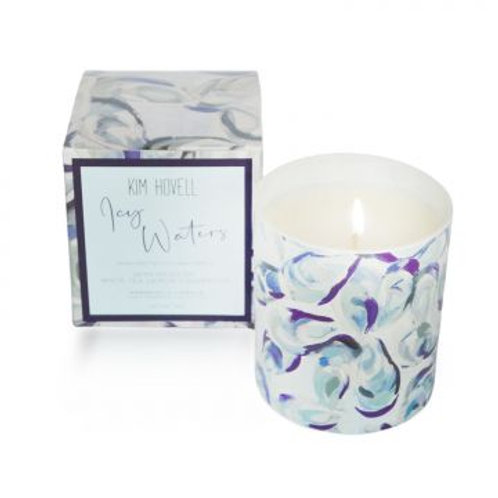 """""""Icy Waters"""" 8 Oz. Boxed Candle"""