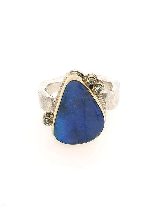 Opal & Diamond Ring - Jamie Joseph
