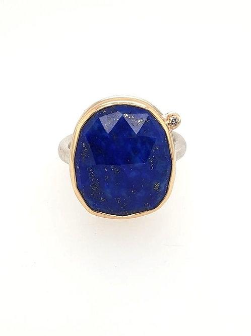 Lapis & Diamond Ring - Jamie Joseph