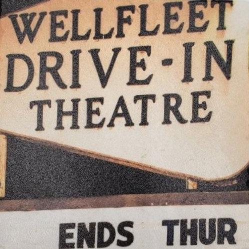 """Wellfleet Drive-In"" Marble Coaster"