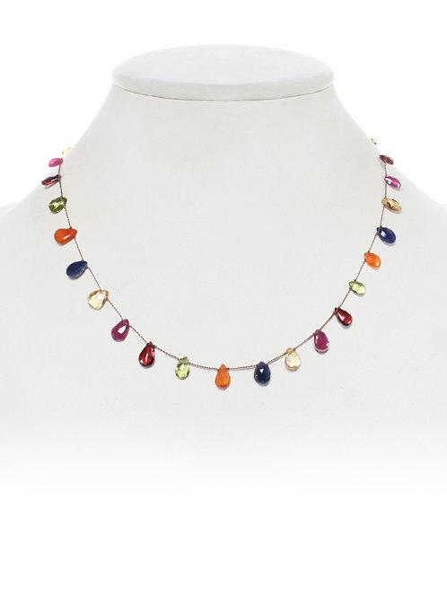 Margo Morrison - Limited Edition Mixed Gemstone Necklace