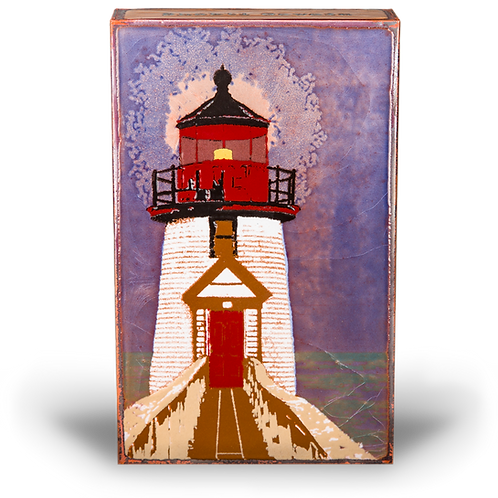 """Beacon"" Spirit Tile by Houston Llew"