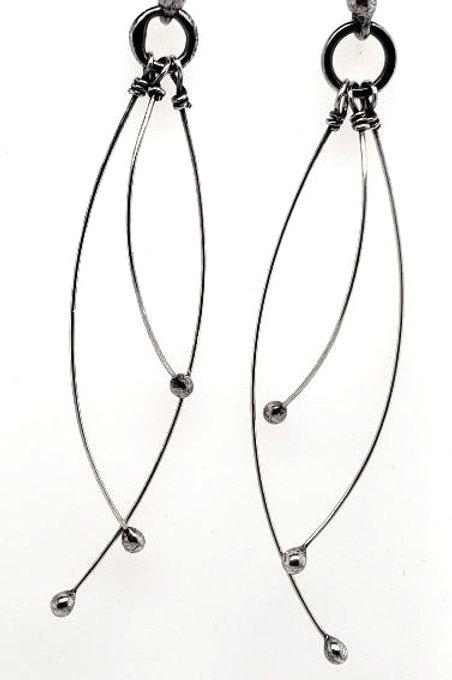 """""""Tickle"""" Earrings - Sterling Silver"""