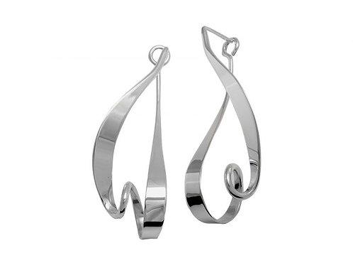 """""""Kinetic"""" Earrings - Sterling Silver - Ed Levin Studio"""