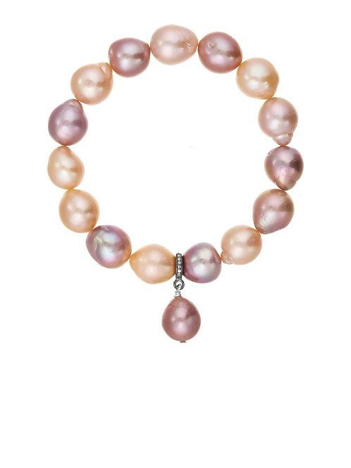 Natural Baroque Pearl Bracelet - Margo Morrison