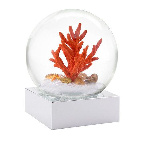 """Coral"" Snow Globe"