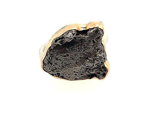 Jamie Joseph - Meteorite Ring - Free Form Shape