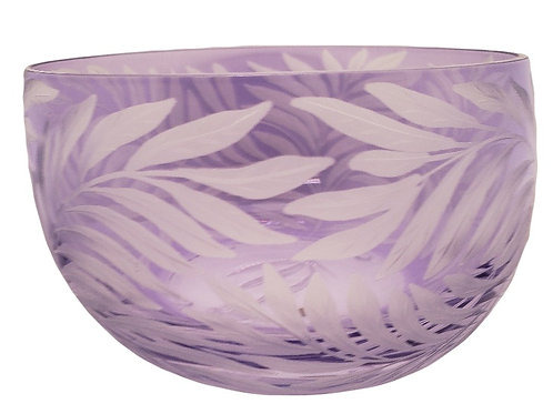 """Willow"" Crystal Bowl - Artel"
