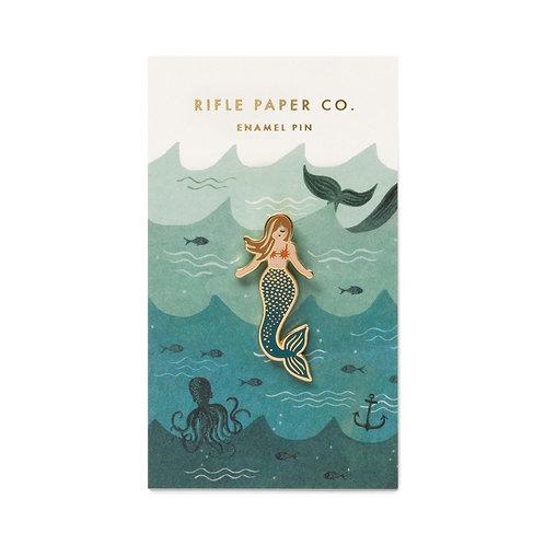 Enamel Mermaid Pin - Rifle Paper Co.