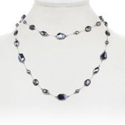 Hyperstine, Black Spinel & Hematite Necklace - Margo Morrison
