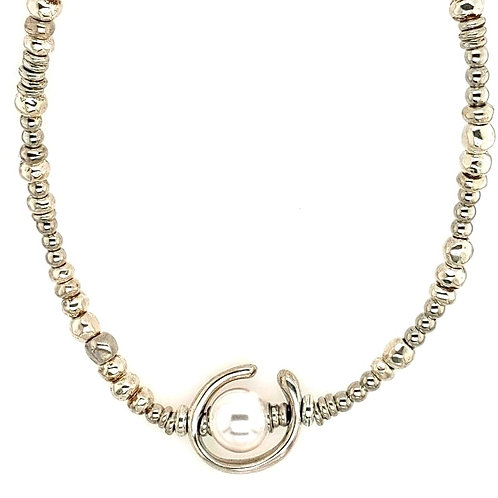 """Uno de 50 Necklace With Swarovski """"Pearl"""""""