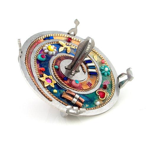 Dreidel - Star & Heart Design by Seeka