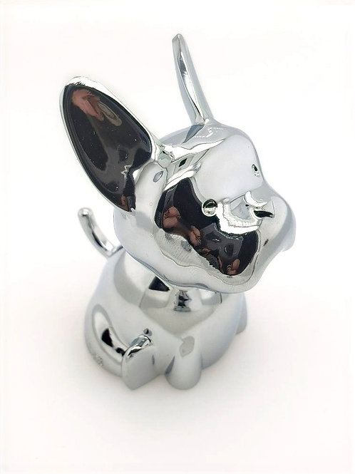 """""""Frenchie"""" Ring Holder in Zinc"""