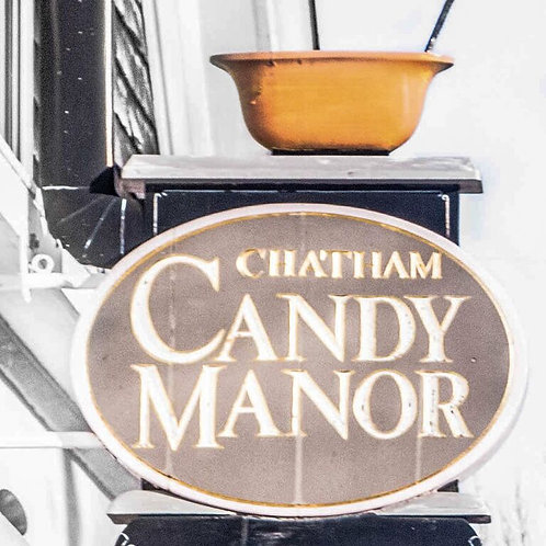 Chatham Candy Manor Coaster - Marble