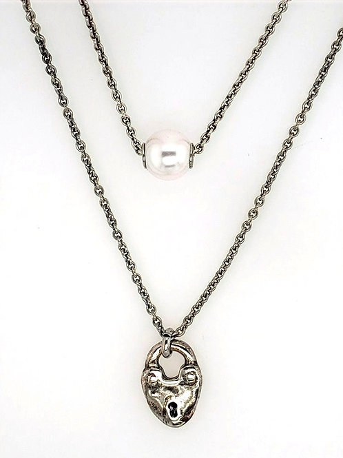 Uno de 50 - Double Chain Necklace