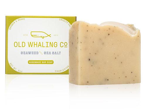 """Seaweed & Sea Salt"" Bar Soap - Old Whaling Company"