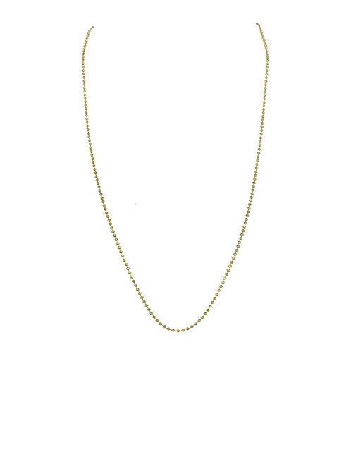"""Margo Morrison - 18kt Gold Vermeil Chain - 24"""""""