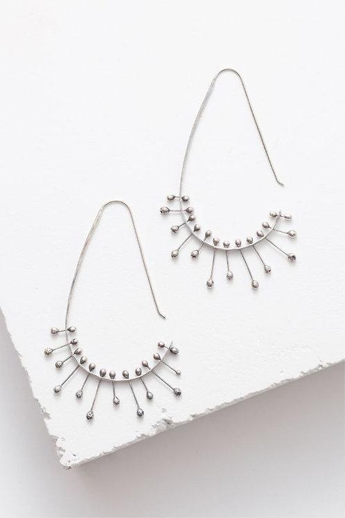 """""""Sprocket"""" Earrings - Sterling Silver"""