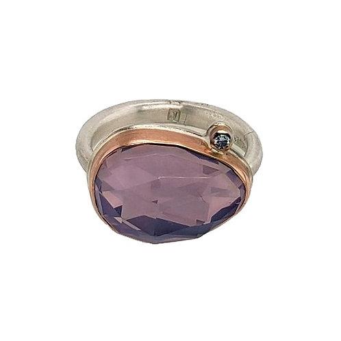 Jamie Joseph - Lavender Amythest Ring