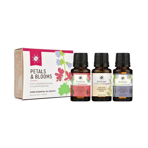 """""""Petals & Blooms"""" - Trio of Essential Oils"""