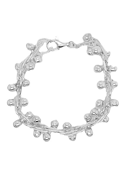 """Rolling Ball"" Bracelet - Sterling Silver"