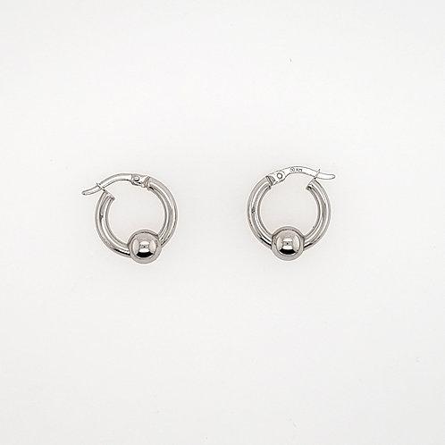 """""""Cape Cod"""" Earrings = Sterling Silver"""