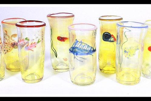 """""""Ocean"""" Shot Glass"""