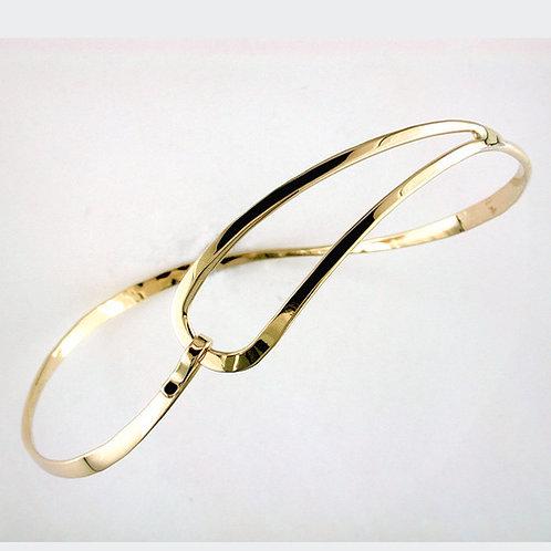 Loop Swirl Bracelet - 14kt Gold