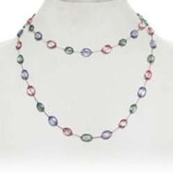 Multicolor Topaz Necklace - Margo Morrison