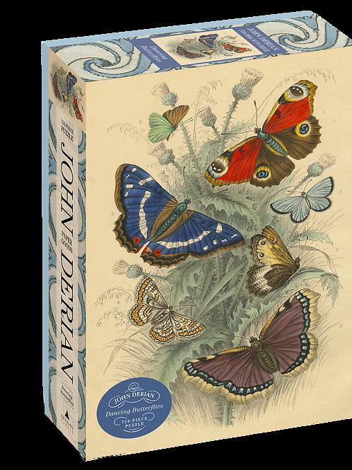 John Derian - Dancing Butterflies 750 Piece Puzzle