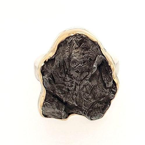 Jamie Joseph - Meteorite Ring - Oval Free Form
